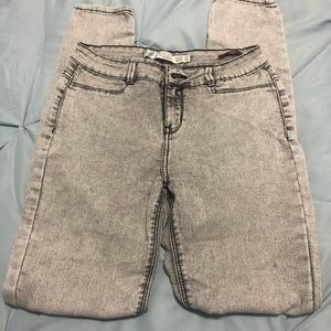 Gray Wash Jeans